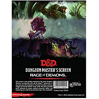 Dungeons & Dragons – Rage of Demons DM Screen
