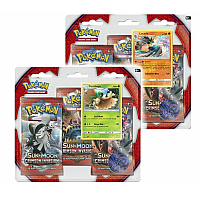 Pokemon 3-pack Sun & Moon Crimson Invasion Boosters