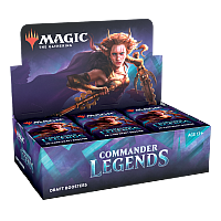 Magic the Gathering Commander Legends Draft Booster Display