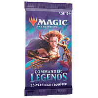 Magic the Gathering Commander Legends Draft Booster