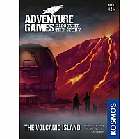 Adventure Games: The Volcanic Island (EN)  - Lånebiblioteket
