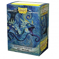 Dragon Shield Brushed Art Sleeves - Starry Night (100 Sleeves)