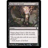 Burden of Greed