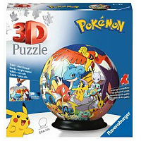 3D Puzzle-Ball - Pokémon 72pc