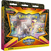 The Pokémon TCG: Shining Fates Mad Party Pin Collections - Dedenne