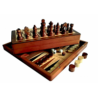 Chess/Backgammon/Checkers 3-in-1