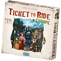 Ticket to Ride: Europe 15th Anniversary (English rules)