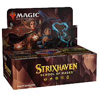 Magic The Gathering - Strixhaven: School of Mages Draft Booster Display (36 Packs)