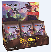 Magic The Gathering - Strixhaven: School of Mages Set Booster Display (30 Packs)
