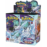 Pokémon TCG Sword & Shield - Chilling Reign: Booster Display (36 Boosters) Max två displayer/person