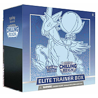 Pokémon TCG Sword & Shield - Chilling Reign: Elite Trainerbox Ice Rider Calyrex VMAX