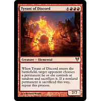 Tyrant of Discord ( Foil )
