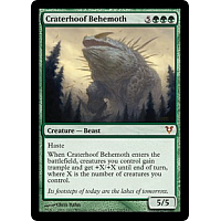 Craterhoof Behemoth ( Foil )